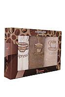 Махровый набор кухонных полотенец 3 шт. (Турция)