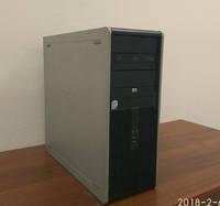 Системный блок, компьютер, 2 ядерный процессор Intel Core 2 Duo 2x2,4 Ггц, 2 Гб ОЗУ, 80 Гб, NVIDIA 512 Мб