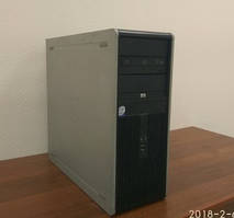 Системний блок, комп'ютер, 2 ядерний процесор Intel Core 2 Duo 2x2,4 Ггц, 2 Гб RAM, 80 Гб, NVIDIA 512 Мб