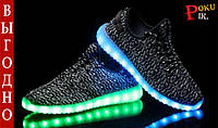 Красовки Adidas Yeezy boost 350 LED