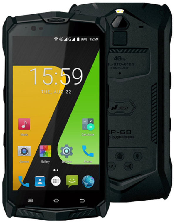 Jesy J9 4/64 Gb black IP68