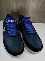 Летние подростковые кроссовки,синие EXTREM  С-038, фото 3
