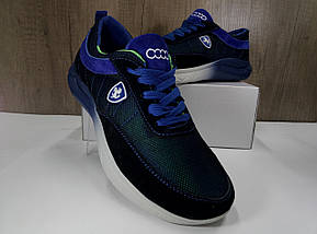Летние подростковые кроссовки,синие EXTREM  С-038, фото 2