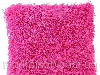 Меховые декоративные наволочки 50х50 с длинным ворсом травка мишки, фото 2