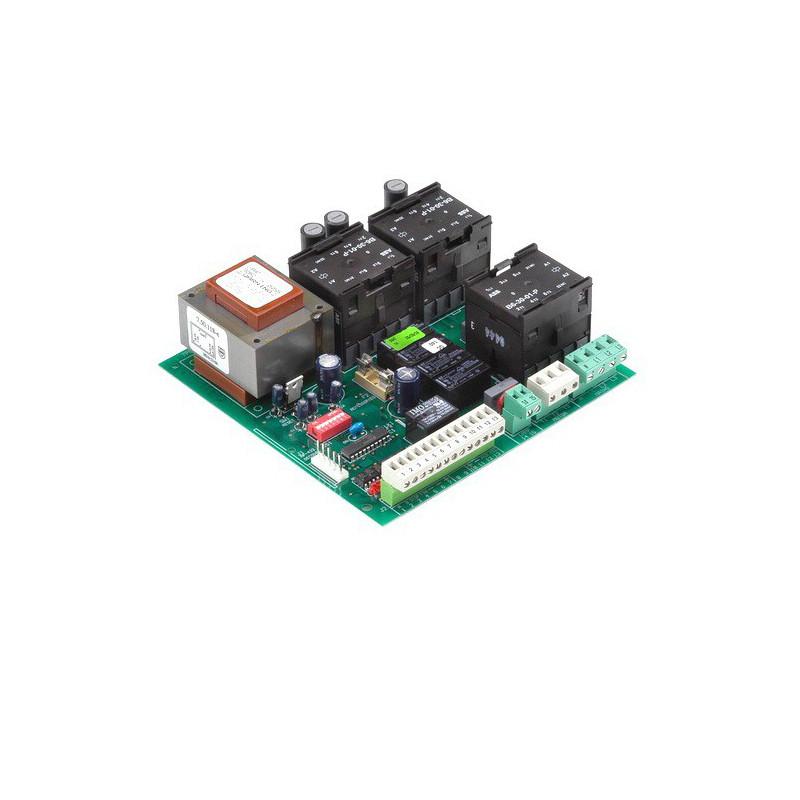 Плата управления Faac 844T (вмонтированная в привод)