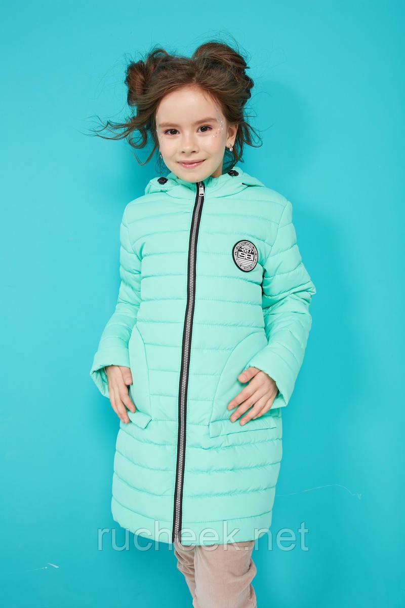 Модная куртка для девочки весна осень Полли рост 116 -158, Новая колле
