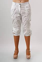 Капри женские летние с завязками больших размеров