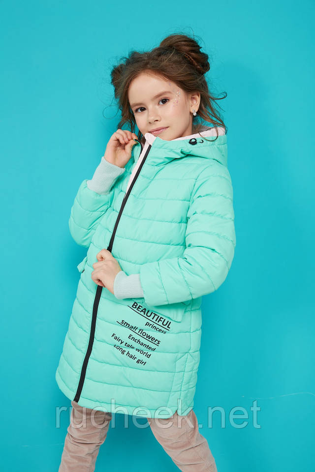 Модные детские куртки пальто