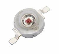 Сверхъяркий фито светодиод LED 1-3W Deep Red 660nm 60Lm, фото 1