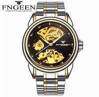 Мужские часы Fngeen Механические с автоподзаводом, водонепроницаемые., фото 1