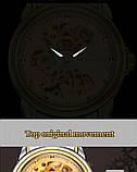 Мужские часы Fngeen Механические с автоподзаводом, водонепроницаемые., фото 5