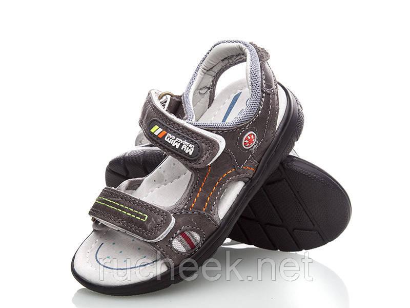 Кожаные босоножки сандали для мальчика размер 29 стелька 18,5см, ТМ EEBB