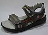 Кожаные босоножки сандали для мальчика размер 29 стелька 18,5см, ТМ EEBB, фото 2