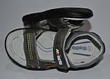 Кожаные босоножки сандали для мальчика размер 29 стелька 18,5см, ТМ EEBB, фото 3
