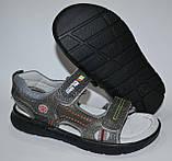 Кожаные босоножки сандали для мальчика размер 29 стелька 18,5см, ТМ EEBB, фото 4