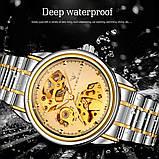 Мужские часы Fngeen Механические с автоподзаводом, водонепроницаемые., фото 4