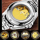 Мужские часы Fngeen Механические с автоподзаводом, водонепроницаемые., фото 6