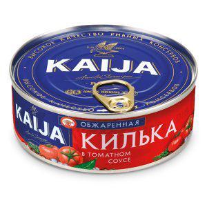 Консерва Kaija 240г Кілька в томатному соусі