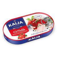 Консерва Kaija 170г Оселедець філе в томатному соусі
