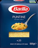 Макарони Barilla № 23 500г Puntine