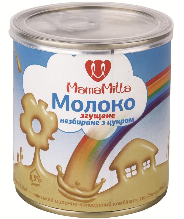 Молоко згущене Mama Milla 380г ДСТУ