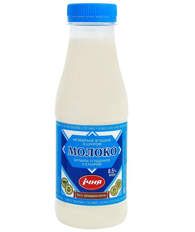 Молоко згущене Ічня 480г ПЕТ
