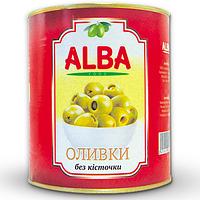 Оливки Alba food 3100мл ж/б б/к