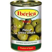 Оливки Iberica 300г зелені б/к
