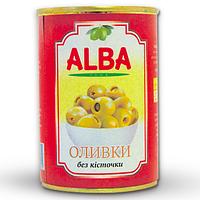 Оливки Alba food 300мл ж/б б/к