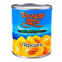 Персики Дольче Віта 850мл половинками ж/б