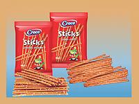 Соломка Croco Sticks 80г солена