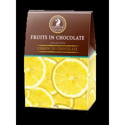 Цукерки Shoude 100г Лимон в шоколаді