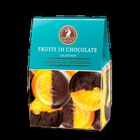 Цукерки Shoude 100г Апельсин в шоколаді