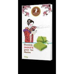 Шоколад Shoude 90г зелений Чай Matcha