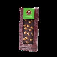 Шоколад Shoude 100г чорний з мигдалем