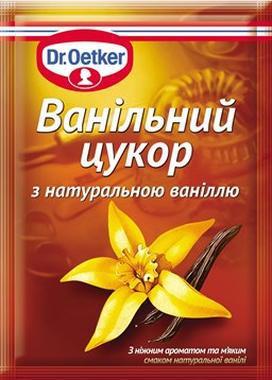 Ванільний цукор Dr.Oetker 8г Бурбон з натуральною ваніллю