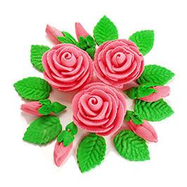 Декор кондитерський Добрик Набір Букет Троянд асорті