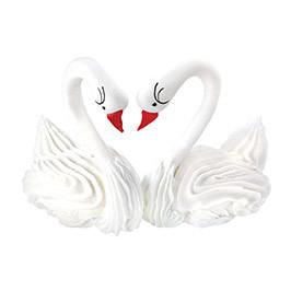 Декор кондитерський Добрик Набір Пара лебедів