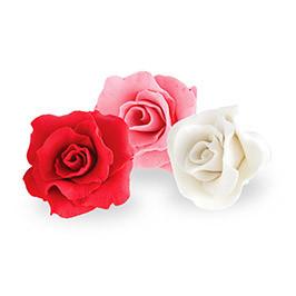 Декор кондитерський Добрик Набір Троянди середні преміум асорті