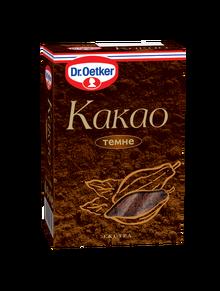 Какао Dr.Oetker 100г темне