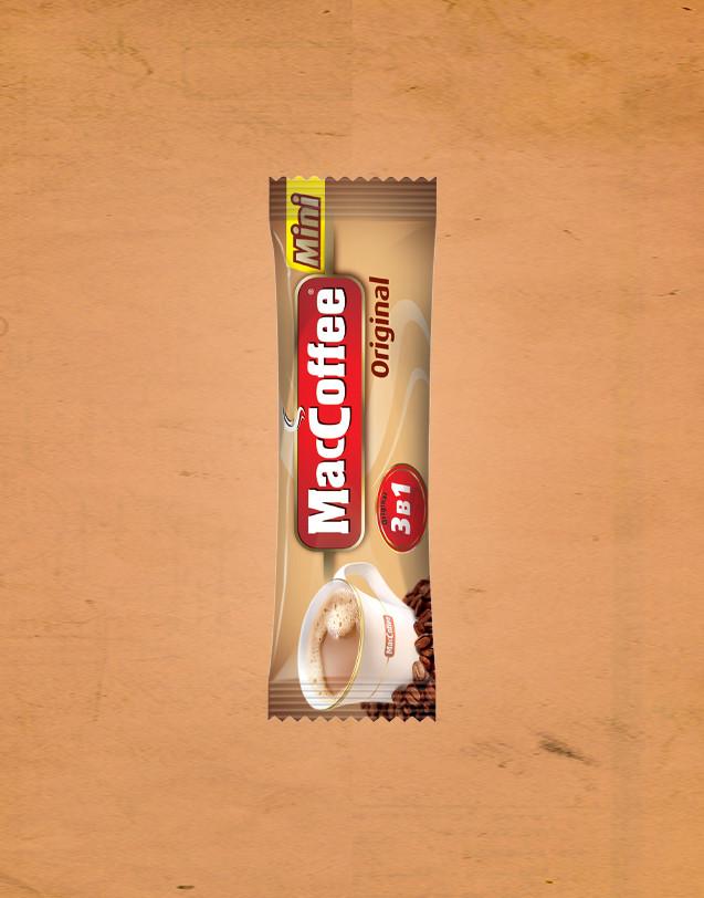Кава MacCoffee 3в1 16шт*12г міні