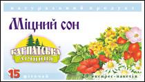 Чай Карпатська Лічниця 20шт*1,5г Міцний сон ф/п