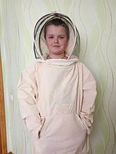 Куртка бджоляра бязь сувора з маскою євро