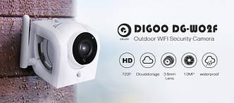 Digoo DG-W02f 720P зовнішня водозахищена Wifi IP камера з режимом нічного бачення і підтримкою карт пам'яті