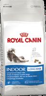 Royal Canin INDOOR LONGHAIR 400 gr корм для длинношерстных кошек постоянно живущих дома.
