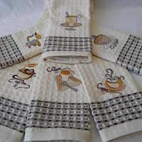 """Кухонное полотенце """"Вафелька Кофе"""", фото 1"""