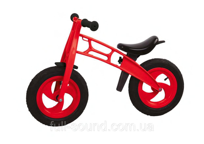 "Беговел мотоцикл 12"" на надувных колесах"