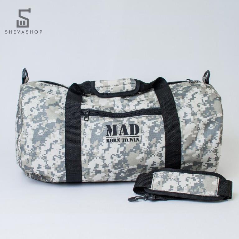 Спортивная сумка MAD FITGO камо
