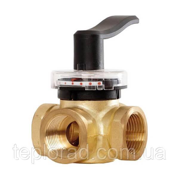 Поворотный трехходовой клапан Danfoss HRB3 3/4 PN10, DN20 (065Z0405)