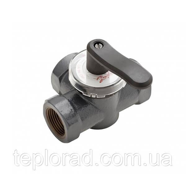 Поворотный трехходовой клапан Danfoss HRE3 1 1/2 PN6, DN40 (065Z0421)